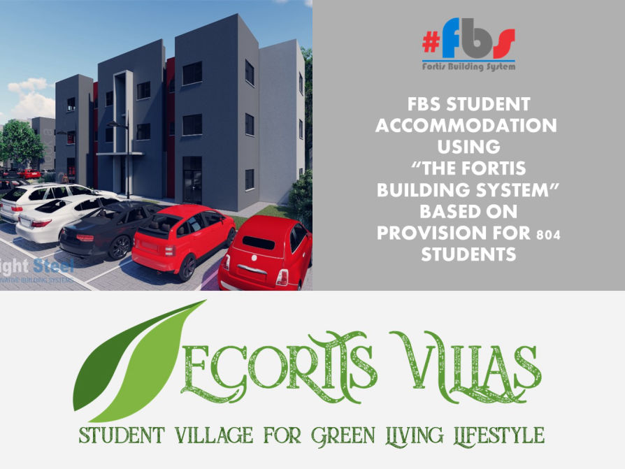 fortis building system av light steel student accommodation presentation drawing abt ibt affordable fast durable construction method technology
